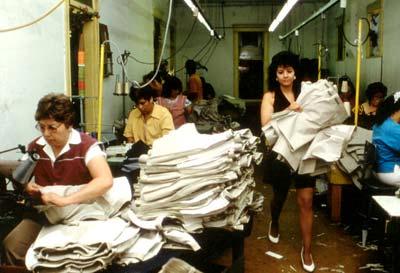 corporate culture sweat shop