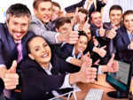 Happy employees produce more, complain less and stay longer than unhappy ones.