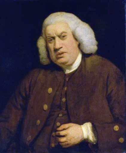 Samuel Johnson Speaks Truth To Power