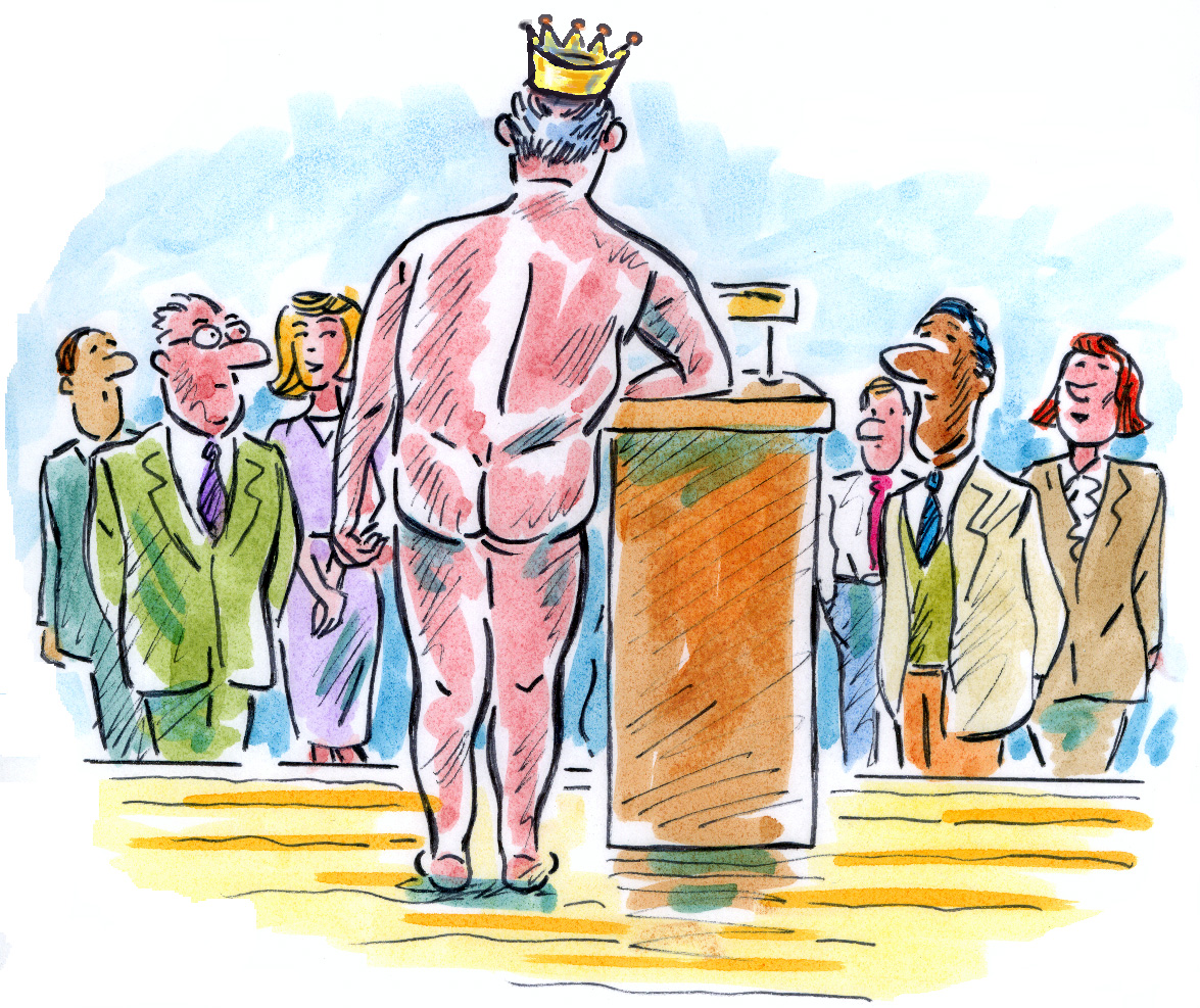 Honest feedback helps us avoid being naked emperors.
