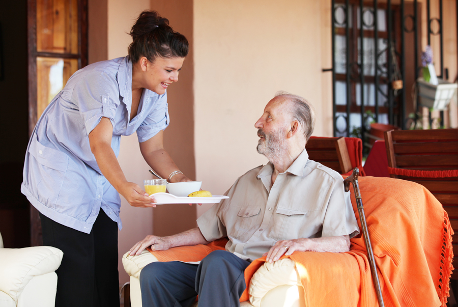 Eagles in nursing homes reduce employee turnover