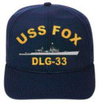 Onboarding on the USS Fox start with a USS Fox Hat